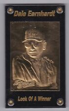 """Sam Bass Dale Earnhardt Sr. GOLD COLLECTION """"Look of a Winner"""" Serial #4588"""