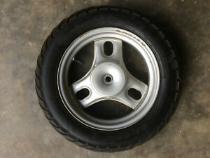 Honda-Metropolitan-50-Kenda-90-90-10-Tubeless-Scooter-Rear-Tire-Wheel-Rim-OEM