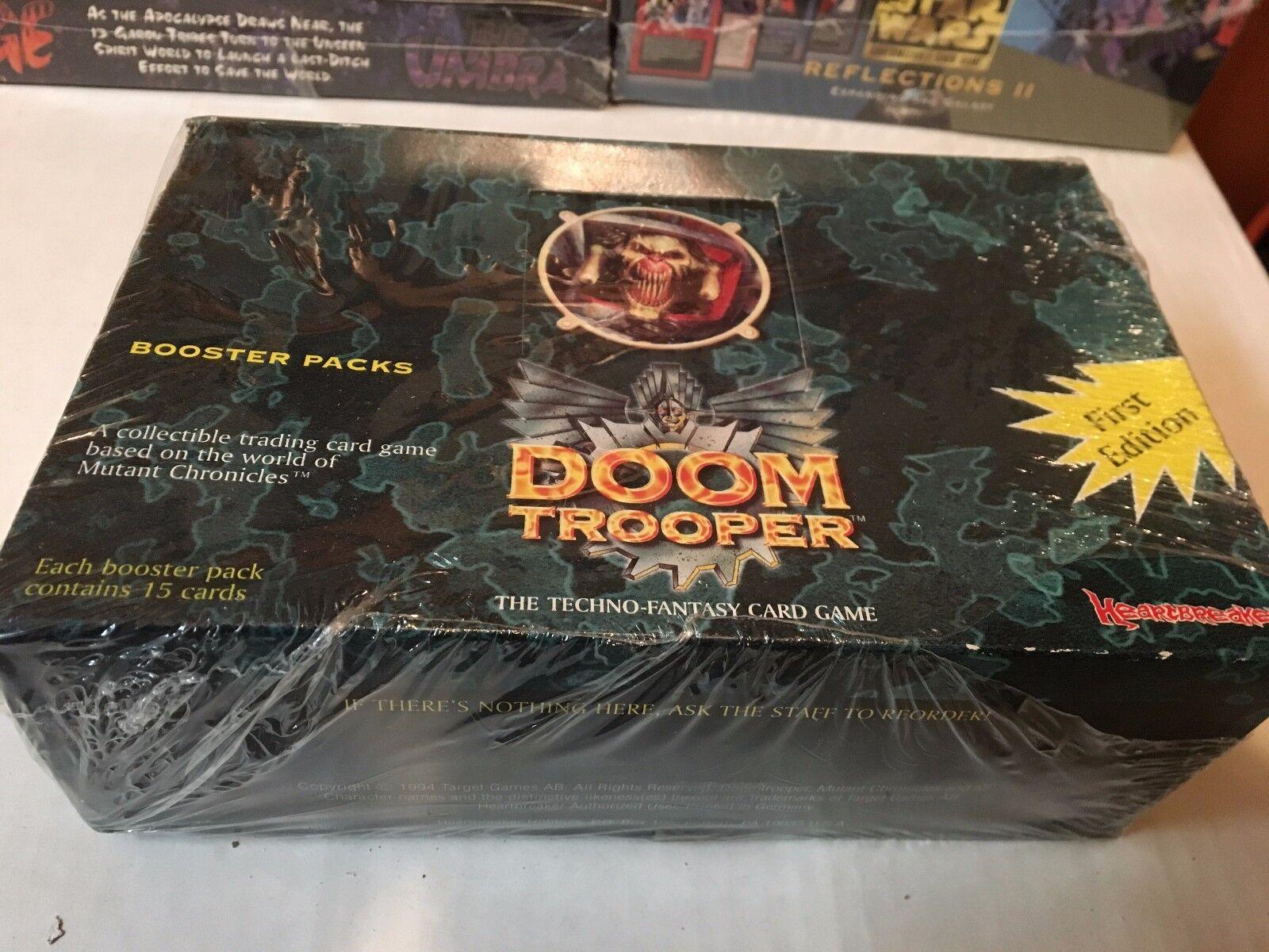 Doom - trooper - box verschlossen ausgelegten krieger begrenzt, 1. ausgabe
