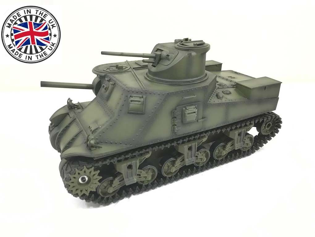Radio Remote Controlled RC Tank M3 Lee 1 16 Superb Detail RTR HAYA UK