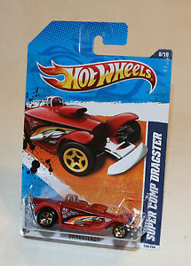 2011-Hot-Wheels-Dragsterz-128-Super-Comp-Dragster-Copper-New