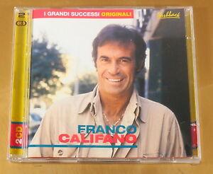 I-GRANDI-SUCCESSI-ORIGINALI-FRANCO-CALIFANO-2CD-OTTIMO-CD-AC-234