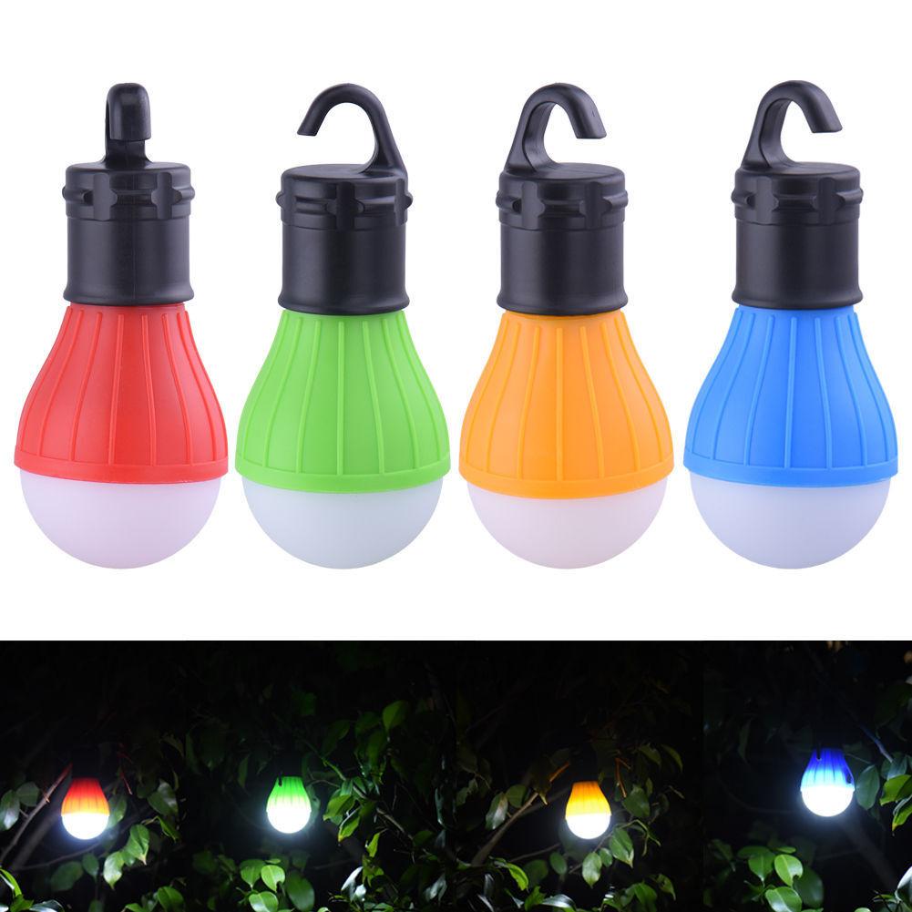 Soft Light Outdoor Hanging LED Camping Tent Bulb Fishing Lantern Lamp Linterna