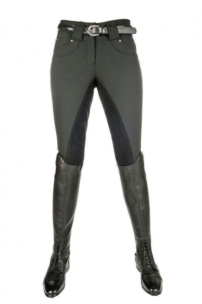 Kinder Mrs Reithose Mrs Kinder Blink mit elastischem Beinabschluss Vollbesatz HKM schwarz d04805