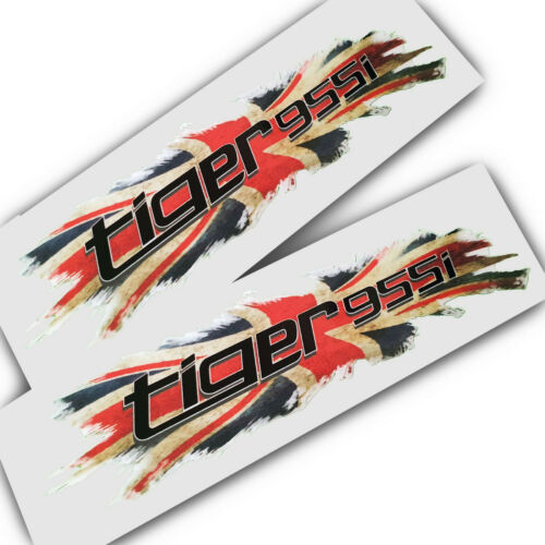 Union flag jack  Triumph Tiger 955i graphics stickers decals x 2 small