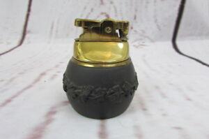 Vintage-Black-Wedgwood-Jasperware-Lighter
