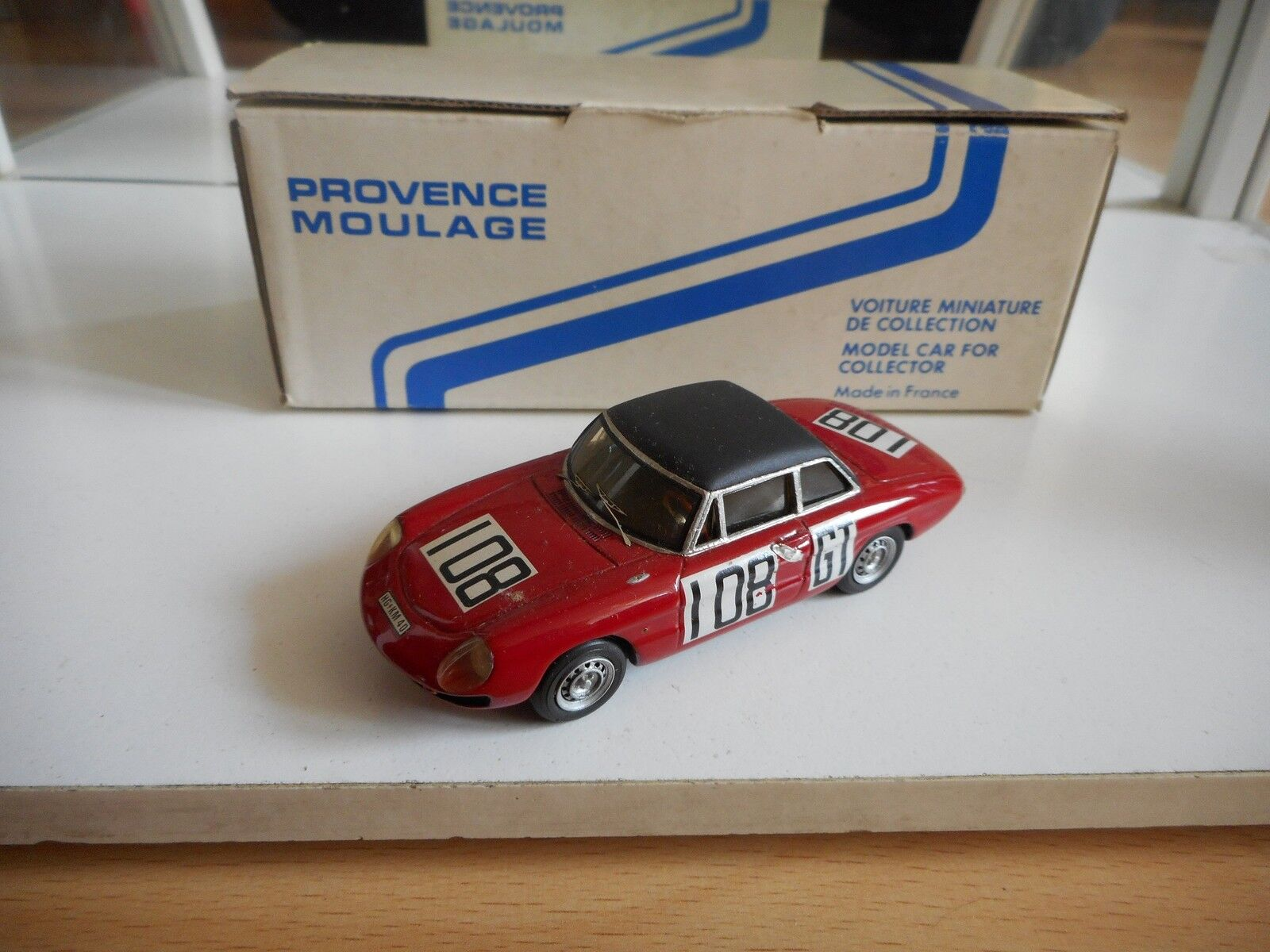 Model Kit Provence Moulage Alfa Romeo Duetto 1000 Km Nurnburgring on 1 43 in Box