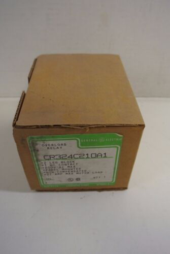 General Electric Overload Relay CR324C210A1 2 leg block 27A max motor load