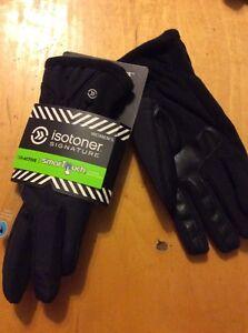 48-Isotoner-Womens-Tessa-Nylon-Thermaflex-SmarTouch-Tech-Gloves-XL-BB27