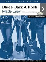 Next Step Guitar Blues Jazz & Rock Made Easy - Book And Cd 014022793