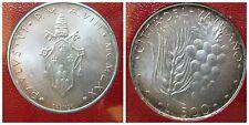 Citta' del Vaticano / Vatican Paolo VI 500 Lire 1970 fdc/unc argento