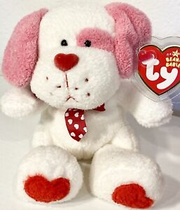 Ty Beanie Baby Lovesick - With Tag (Dog 2006) Valentines