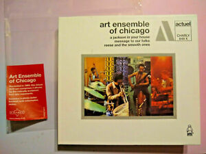 Art-Ensemble-Of-Chicago-three-albums-on-2-CDs-from-Actuel-Charly-BYG