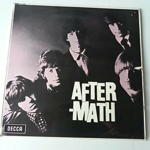 Rolling-Stones-Aftermath-Vinyl-LP-UK-1969-Mono-Press-Unboxed-No-Groove-EX