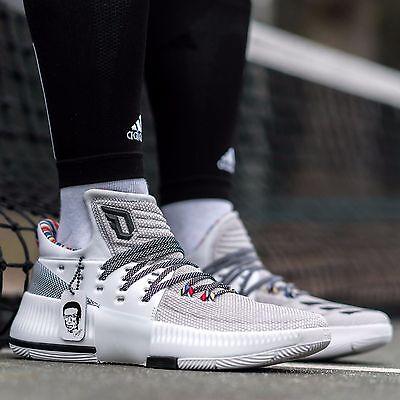 Adidas Dame 3 Lillard 3 BHM Black History Month Arthur Ashe DS
