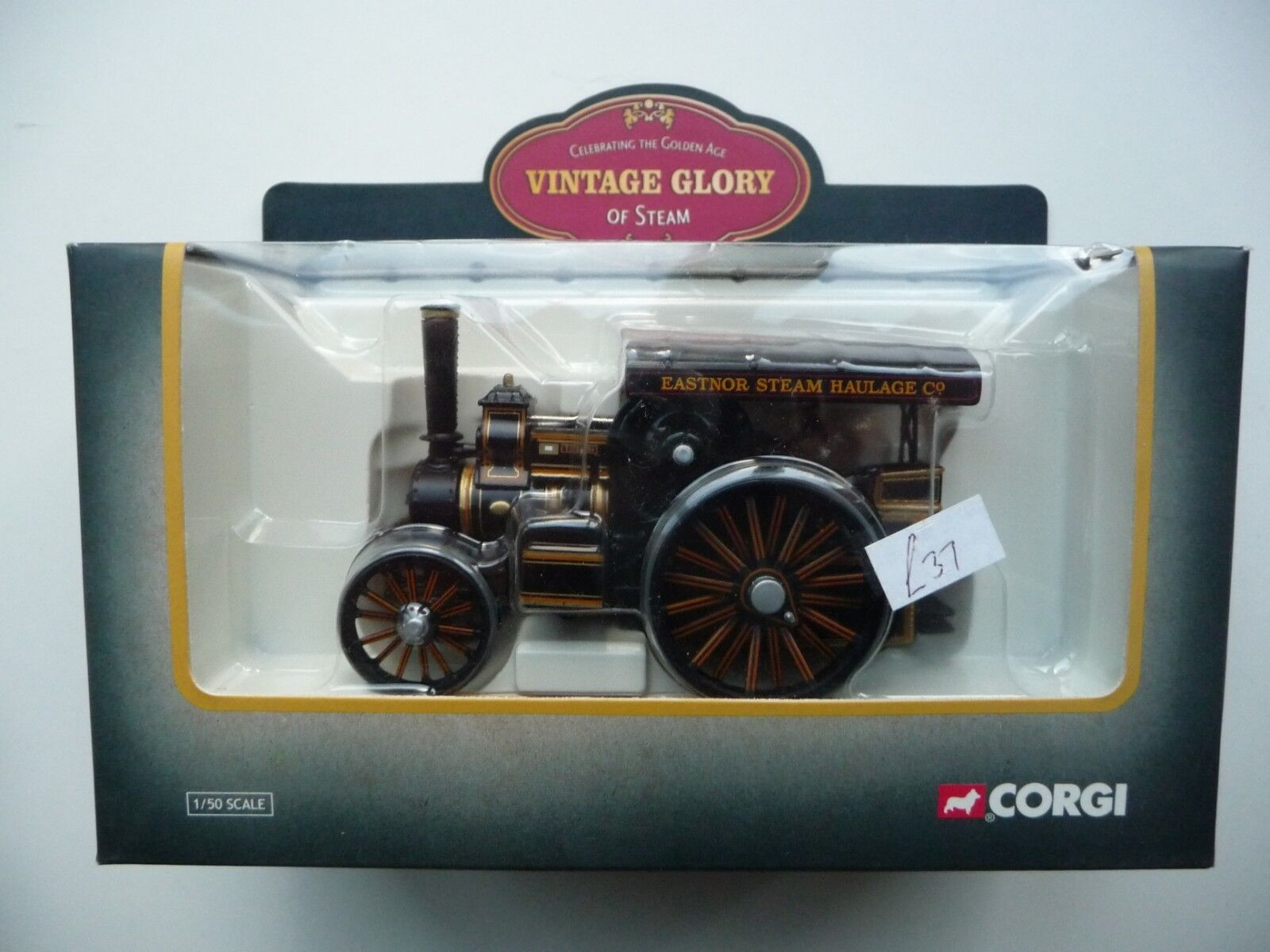 Corgi 80106 Fowler B6 Road Locomotive  Titan  - Eastnor Steam Haulage - MIB.