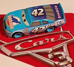 Disney-Pixar-World-of-Cars-3-Cal-Weathers-Dinoco-42-1-55-New-Loose-No-Package