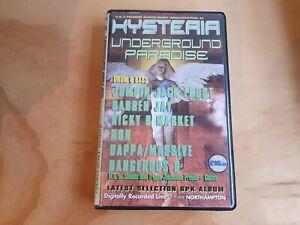 Hysteria Underground Paradise 6 Cassette Tape Box Set Jumpin Jack Frost Ron