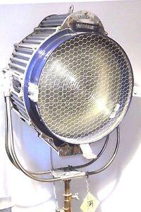 HOLLYWOOD-ANTIQUE-FILM-LIGHT-RKO-RADIO-PICTURES-STUDIO-SPOT-LAMP-FILM-10K-LARGE
