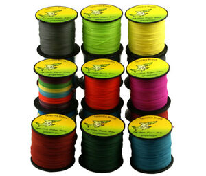 9-Color-300M-Multifilament-Spectra-Braided-4-Strands-Sea-Testing-Fishing-Line