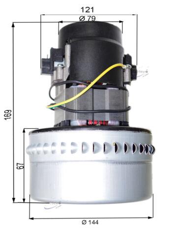 quantité Saugmotor mouvement de l/'Aspirateur Moteur M Fil de terre par exemple Cleanfix TW 300 S