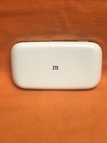 ZTE MF923 VELOCITY HOTSPOT 4G LTE BROADBAND WiFi MOBILE WHITE AT/&T