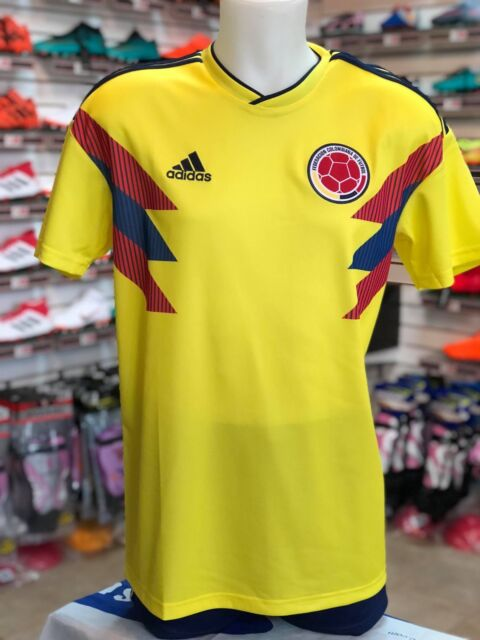 293cb63b54559 adidas Colombia World Cup Home Jersey Youth Sz Large Yellow Soccer ...