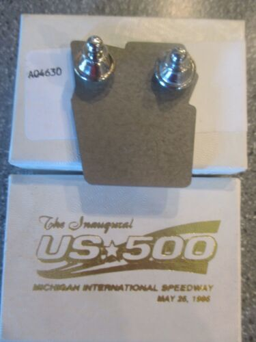 1996 CHAMP CAR CART INDY Michigan US-500 Silver Pit Badge /& 10 Event Stickers