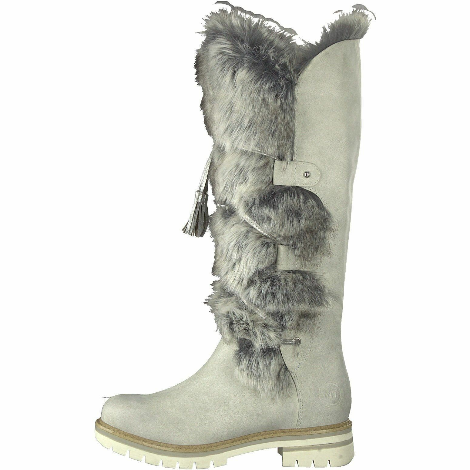 MARCO TOZZI    26635 Ice Long Leg Fur Lined Stiefel 030225
