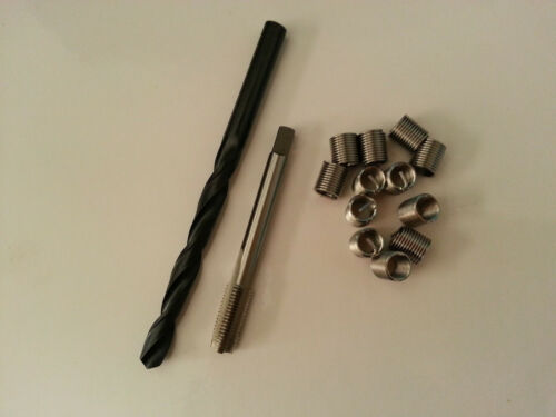 Free shipping Helicoil Thread Repair M7 x 1 Drill and Tap 12 Inserts