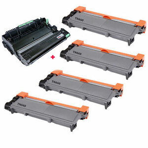 4-TN660-TN630-DR630-Toner-amp-Drum-for-Brother-DCP-L2520-DCP-L2540-HL-2320