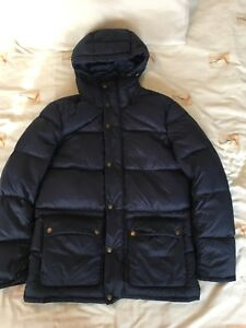 Barbour-Down-Coat-Jacket-Medium-M-Navy-Blue