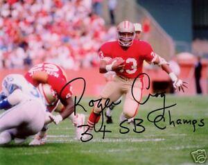 Roger-Craig-San-Francisco-49ers-SIGNED-8x10-Photo-COA