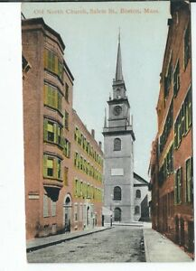 CG-096-MA-Boston-the-Old-North-Church-Divided-Back-Postcard-Massachusetts
