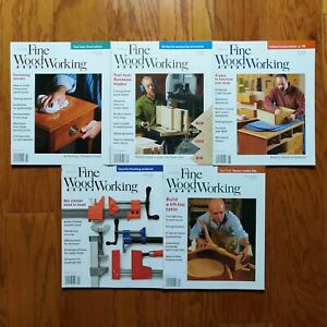 Fine-Woodworking-Magazine-Lot-2004-5-Issues-Old-Furniture-Design-Plans-Taunton-039-s