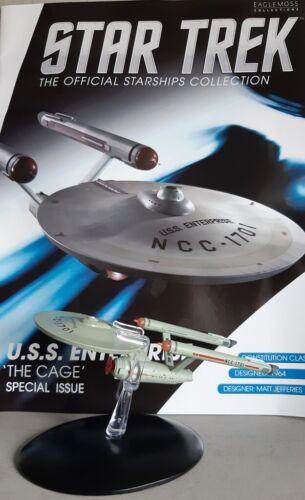 Starship colección Eaglemoss inglesa The Cage Enterprise Star Trek U.S.S