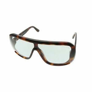167acadded Tom Ford Porfirio TF 559 56A Dark Havana Plastic Shield Sunglasses ...