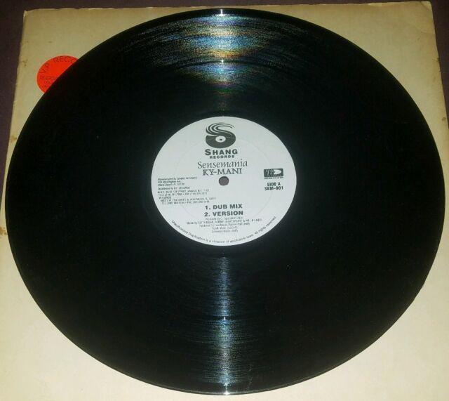 """Kymani Marley 12"""" Sensemania mixes Shang SKM-001 exc ..."""