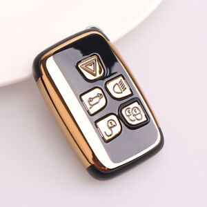 Details about Land Rover ABS Gold Remote Smart Key Cover Range Rover  Defender Discovery LR4