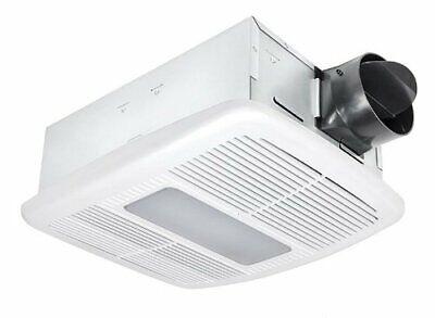 Delta Breez 80 Cfm Ceiling Exhaust Bath Fan W Led Light 885917002619 Ebay