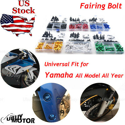and Hardware Fasteners Black Complete Motorcycle Fairing Bolt Kit For Suzuki Hayabusa GSX1300R 1999-2007 Body Screws