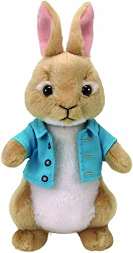 """Peter Rabbit Movie TY Beanie Baby 8/"""" COTTON TAIL Plush Animal Easter Toy MWMTs"""