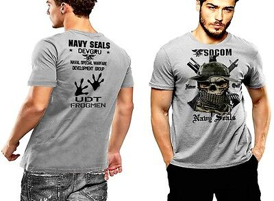 Black Ops Commando Action tee Military T-shirt