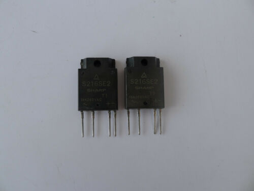 2Pcs SHARP S216SE2 4-PIN SSR for medium power control