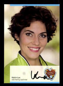 Katrin-Lux-Dahoam-is-Dahoam-Autogrammkarte-Original-Signiert-BC-130752