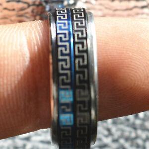 Details about New Exquisite Korea Zinc alloy rotary ring Tibetan amulet jz#1
