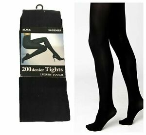 Ladies Tights 200 denier Thick Opaque Tights Thermal Winter Pantyhose Winter