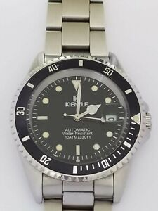 Vintage-Kienzle-Submariner-Automatic-Men-039-s-Watch-40mm-As-Rolex