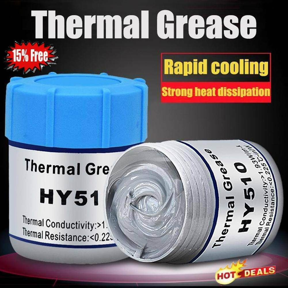 Cooler Heatsink For CPU PC Thermal Grease Conductive Paste 10g Gifts