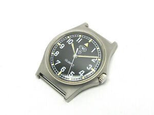 Vintage-CWC-Stahl-Quartz-Militaer-Uhr-britische-Armeeuhr-Military-0552-6645-99